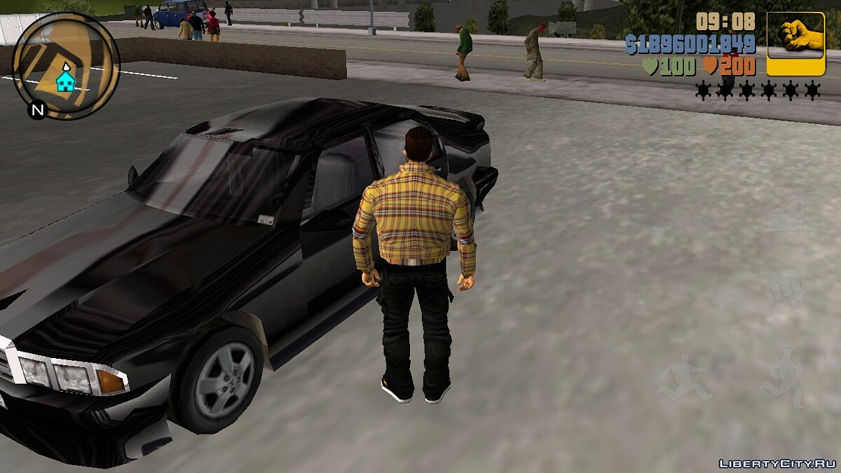 Mod Glitter effect for GTA 3 (iOS, Android)