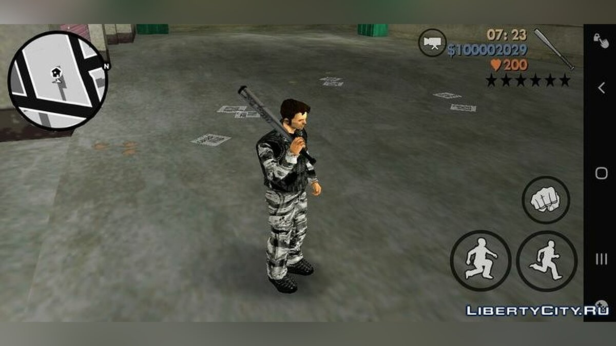 Mod Weapons from GTA 4 for GTA 3 (iOS, Android)