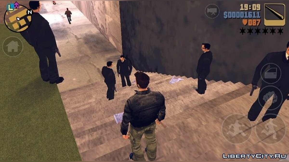 Mod More gangsters for GTA 3 (iOS, Android)