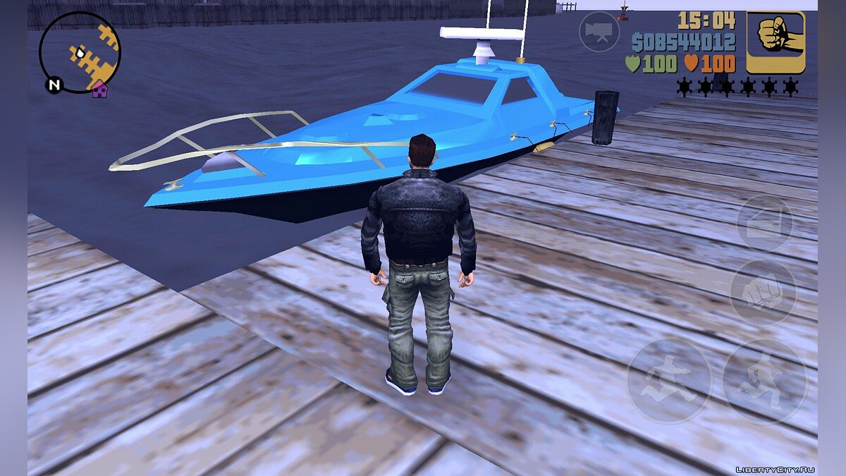 Save 100% conservation with a unique transport for GTA 3 (iOS, Android)