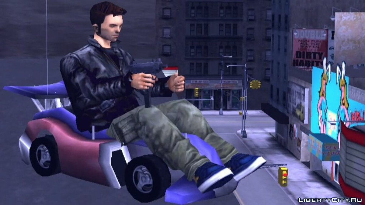 Save Saving with unique transport (next) for GTA 3 (iOS, Android)
