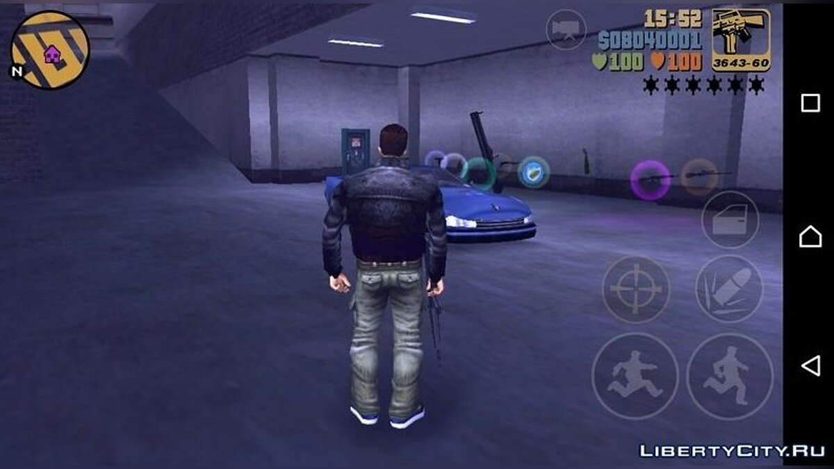 Save Saving GTA 3 Android 100% for GTA 3 (iOS, Android)
