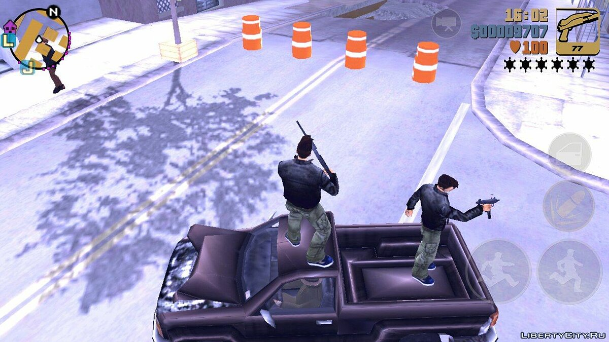 Save Claude's Double for GTA 3 (iOS, Android)