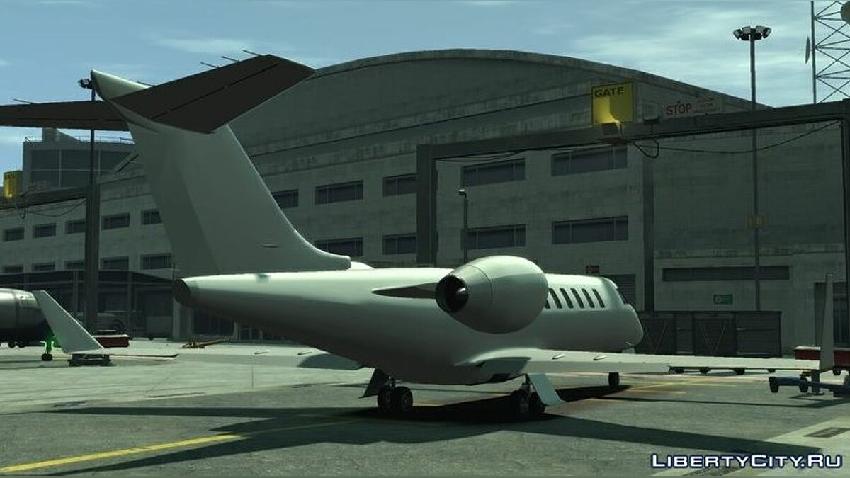 Planes and helicopters Shamal (+ HQ Interior) for GTA 4
