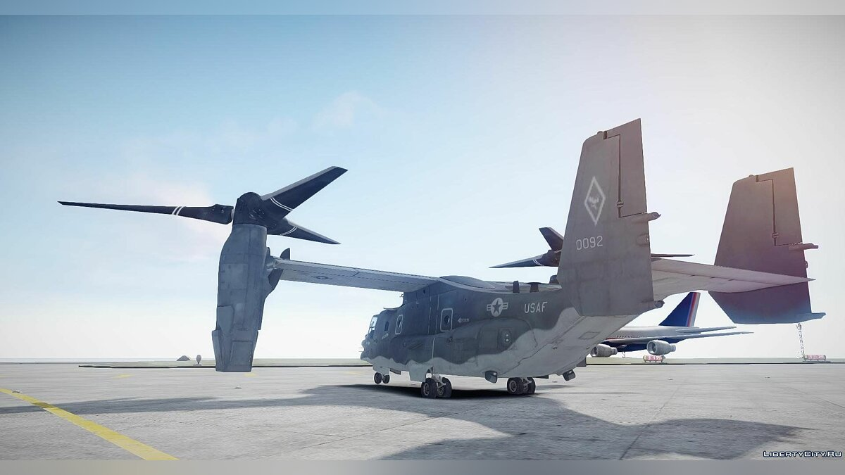Planes and helicopters Bell CV-22 Osprey [EPM] for GTA 4