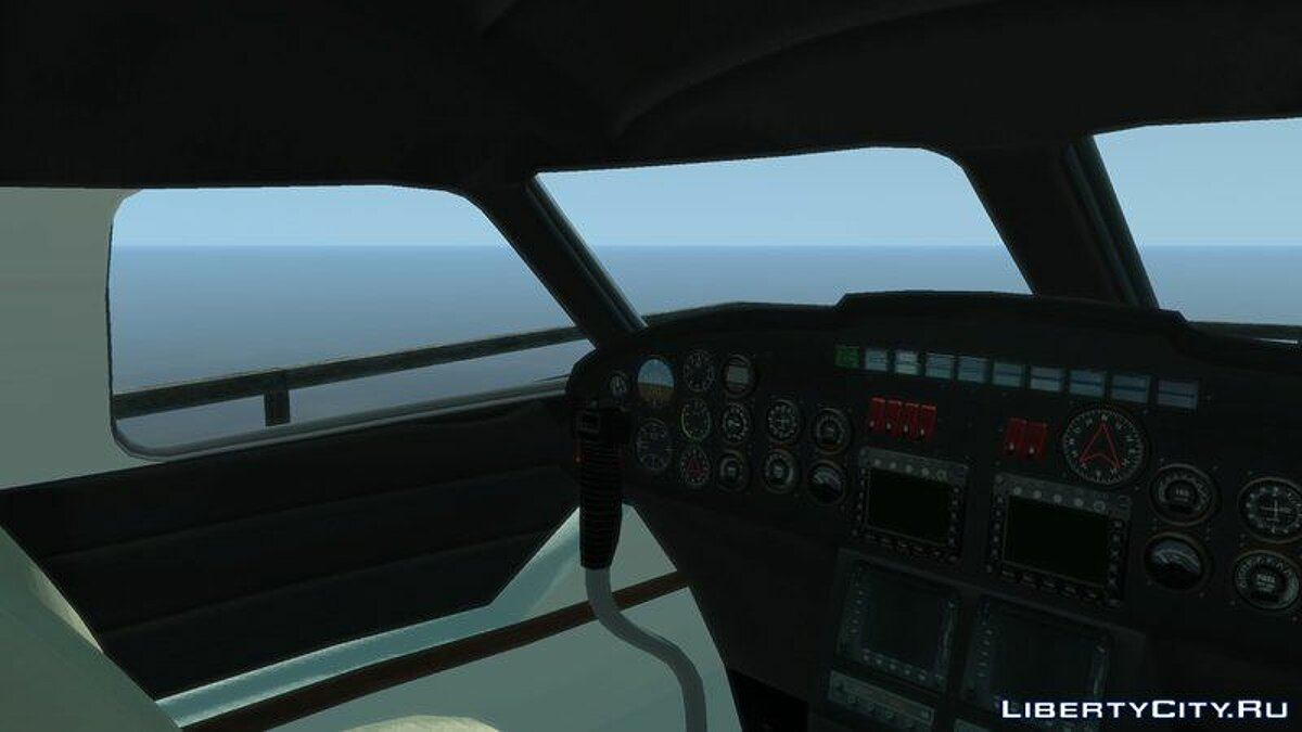 Planes and helicopters Nimbus (+ HQ interior) for GTA 4