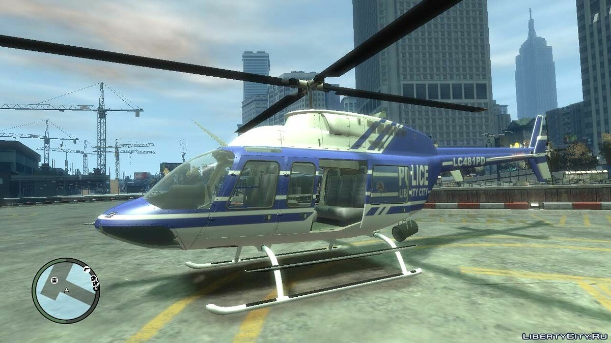 Planes and helicopters Bell 407 v.1.0. for GTA 4