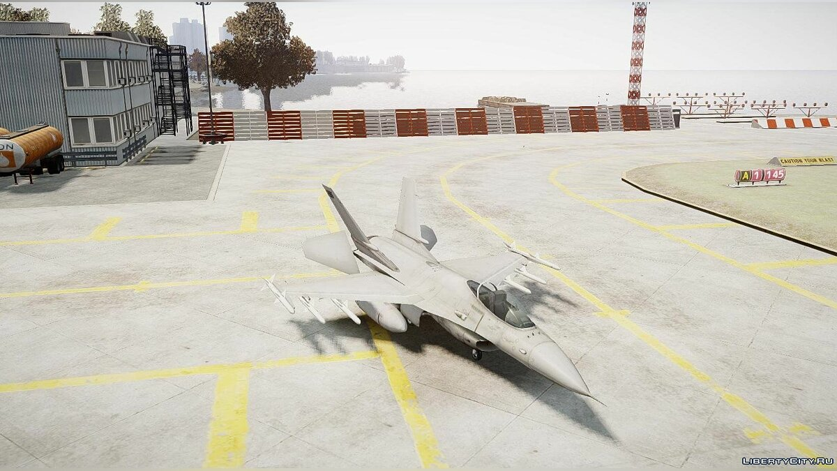 Planes and helicopters Fighter for GTA 4
