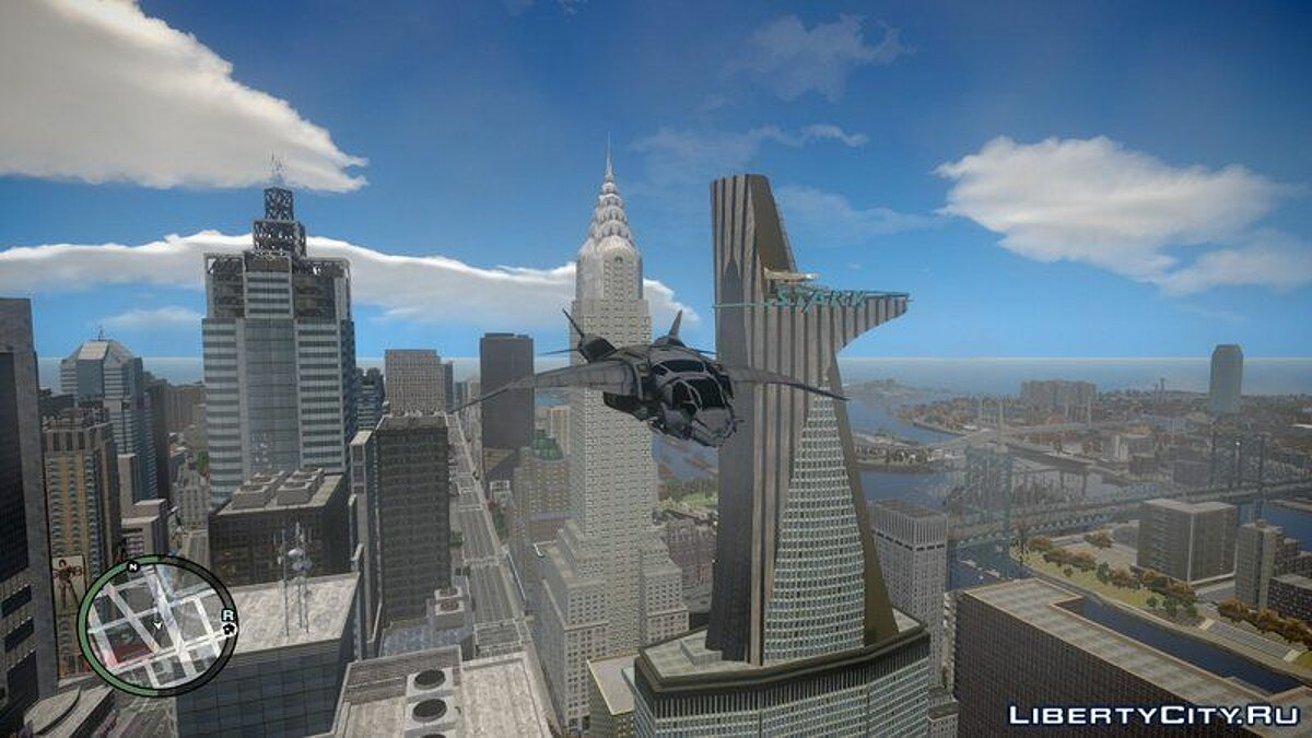 Planes and helicopters The Avengers S.H.I.E.L.D. Quinjet for GTA IV and EFLC for GTA 4