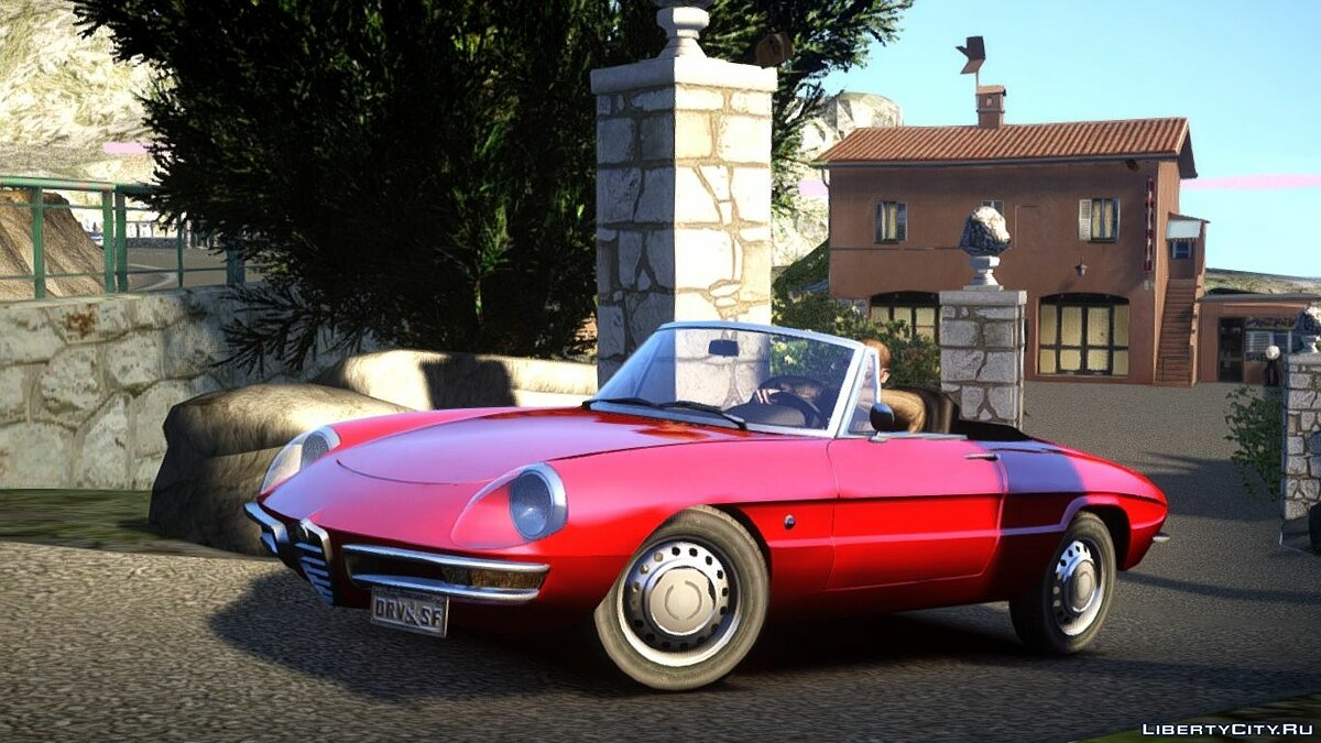 Alfa Romeo car 1966 Alfa Romeo Spider (Duetto) for GTA 4