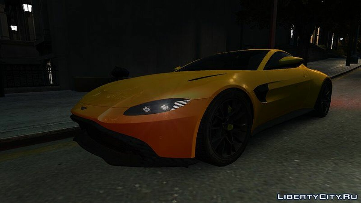 Aston Martin car 2019 Aston Martin Vantage AMR v1.0 for GTA 4