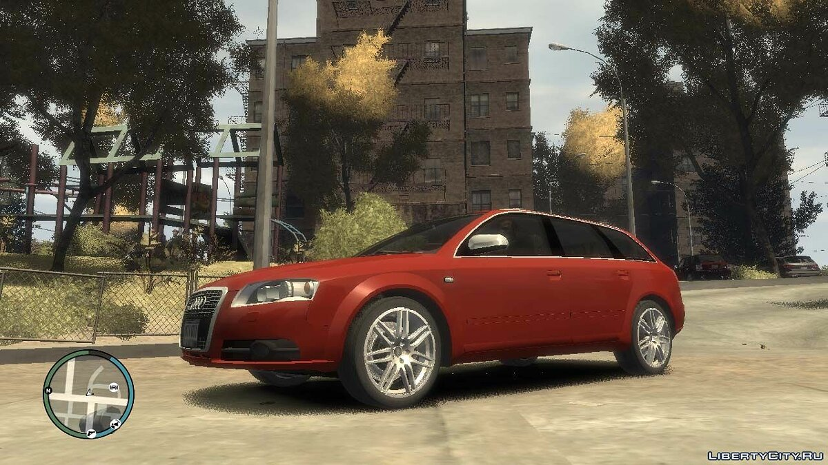 Audi car 2005 Audi A6 Avant for GTA 4