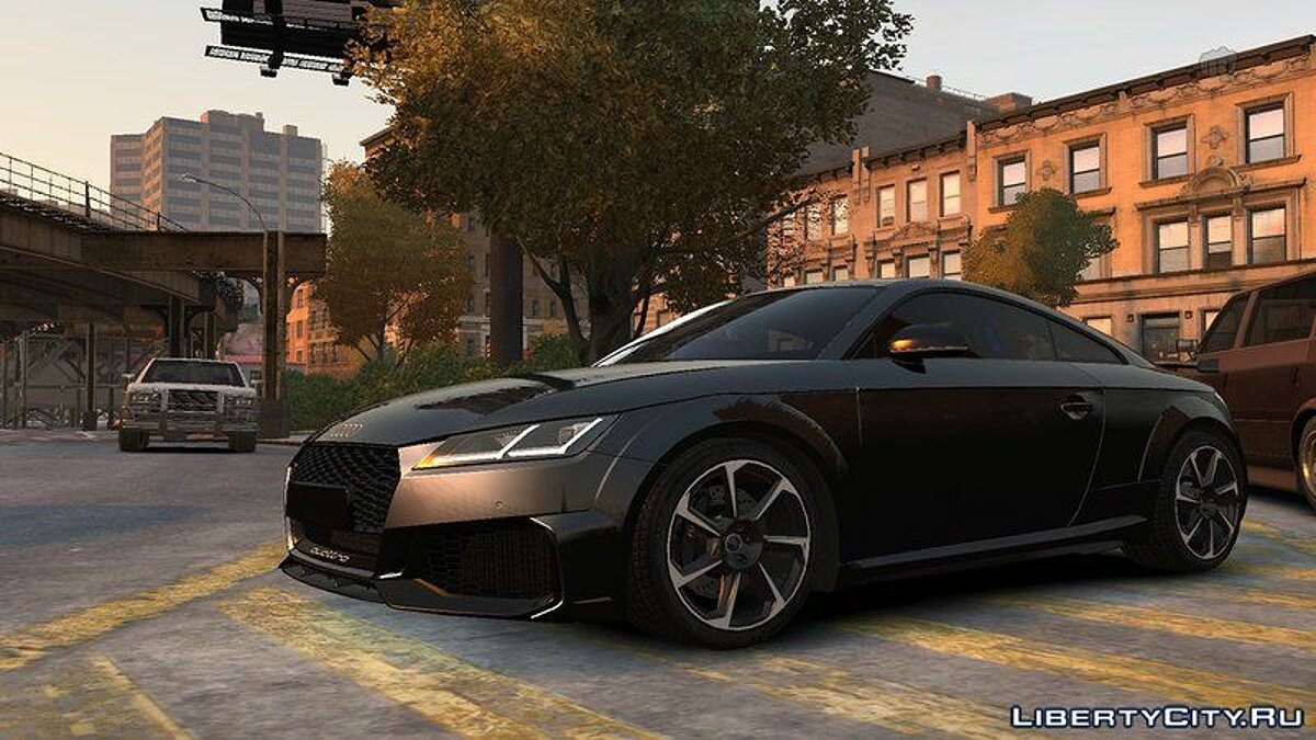 Audi car 2019 Audi TT RS v1.0 for GTA 4