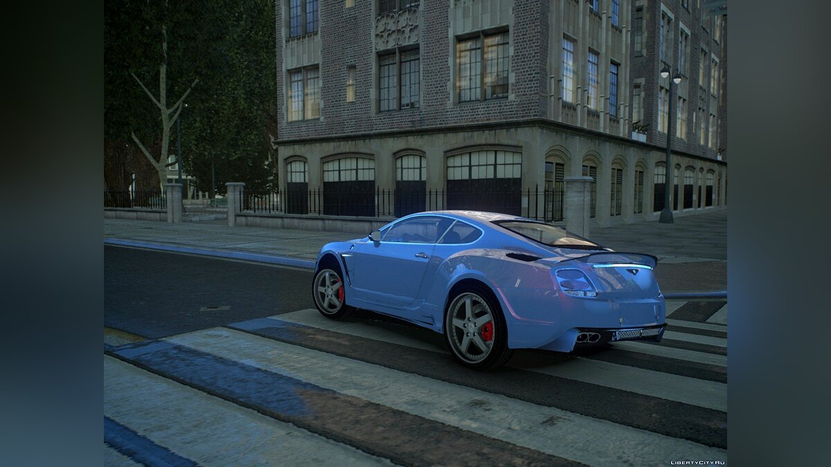 Bentley car Bentley Continental HyperSports Cross Hamman Limited Edition for GTA 4