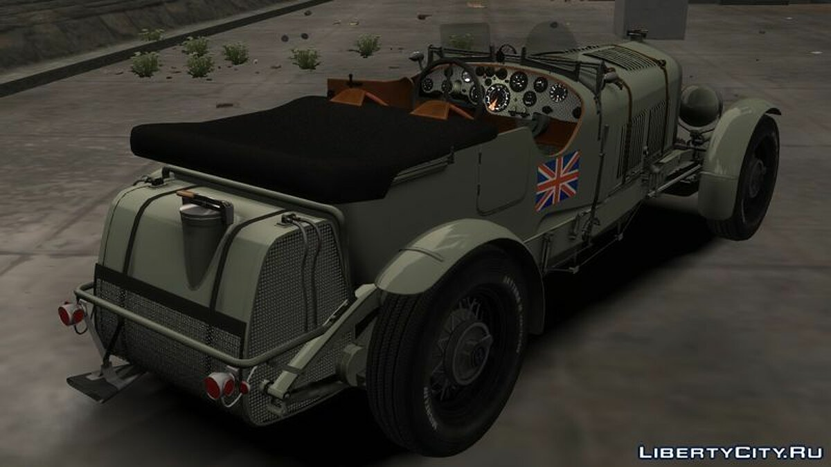 Bentley car Bentley Blower 4 1/2 Litre (Beta) for GTA 4