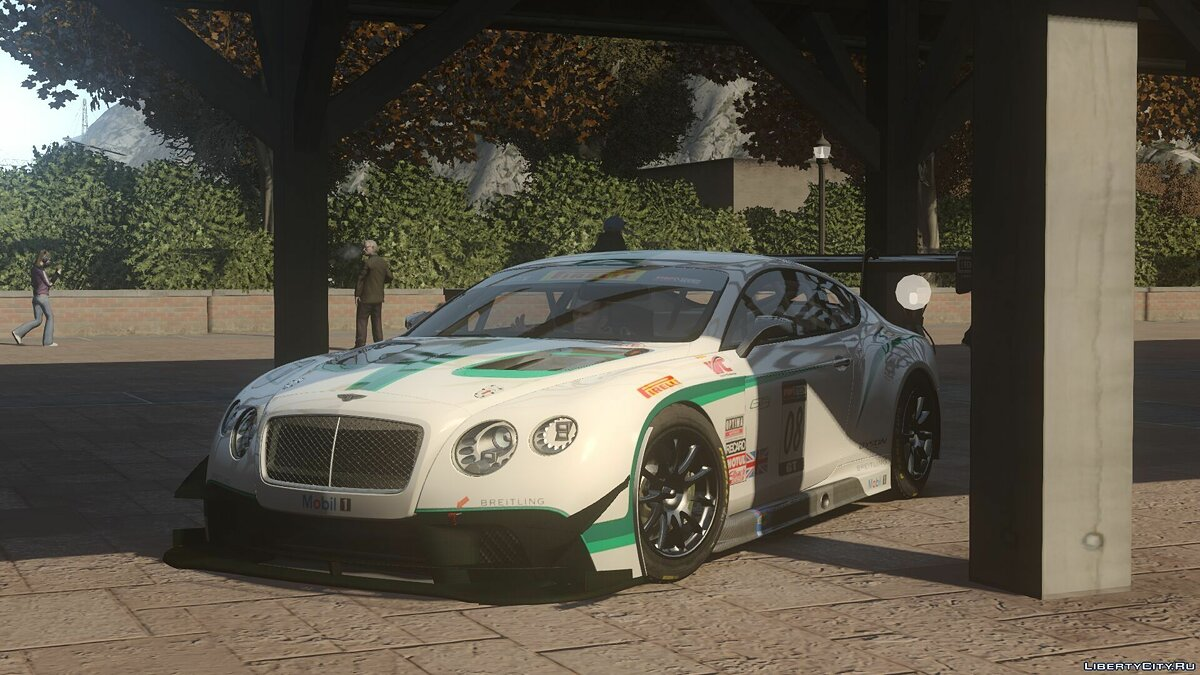 Bentley car 2014 Bentley Continental GT3 for GTA 4