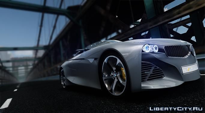 2011 Bmw Vision Connected Drive Concept For Gta 4
