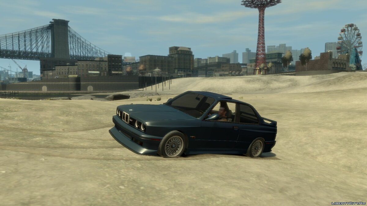 BMW car BMW M3 E30 for GTA 4
