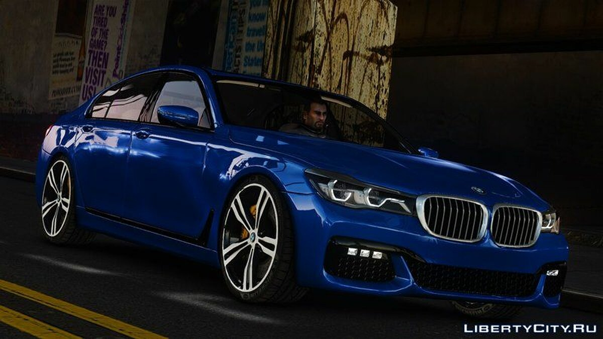 BMW car BMW M760Li xDrive for GTA 4