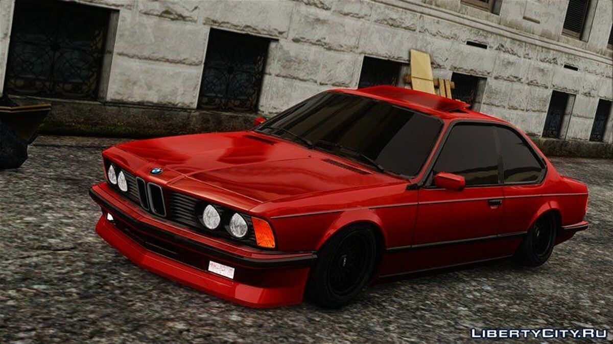 BMW car BMW M6 1986 for GTA 4