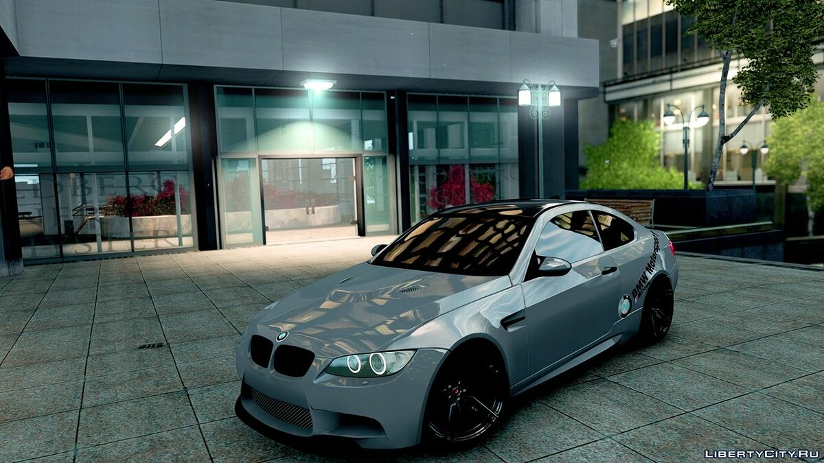 BMW car BMW M3 for GTA 4