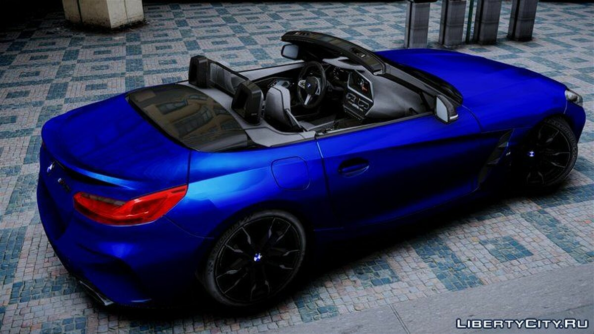 BMW car BMW Z4 2019 for GTA 4