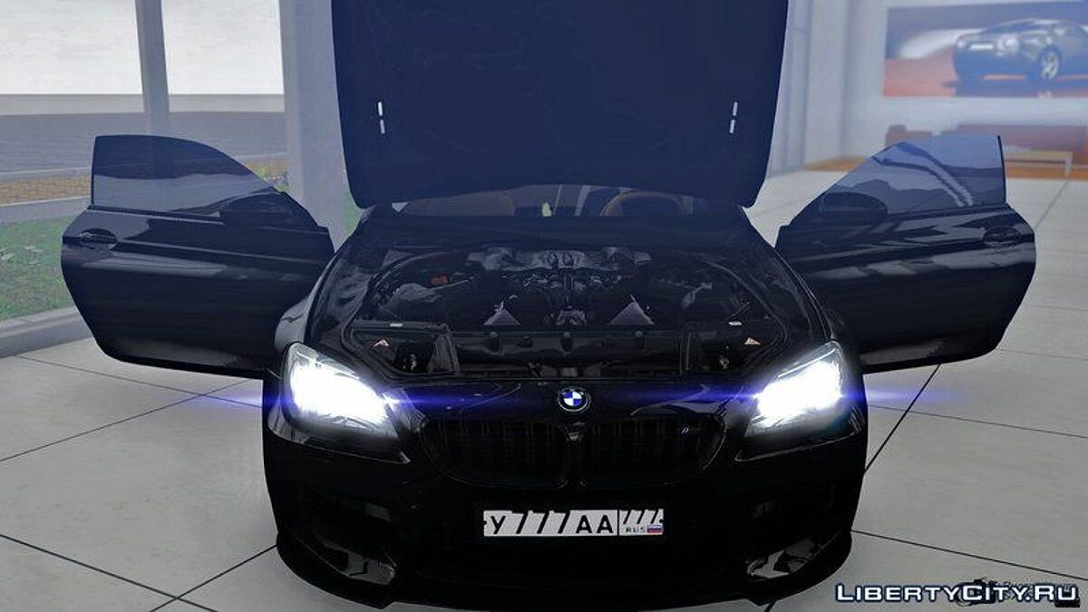 BMW car BMW M6 for GTA 4