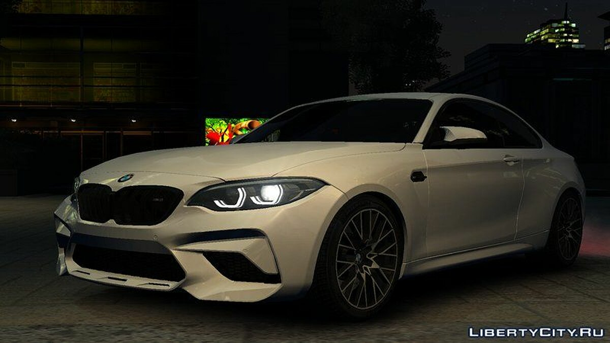 BMW car 2018 BMW M2 Competition v1.0 for GTA 4