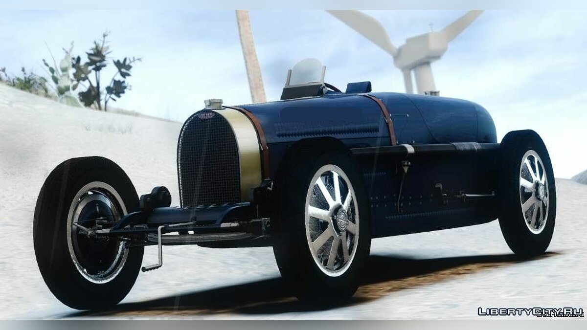 Bugatti car 1931 Bugatti Type 51 v1.0 for GTA 4