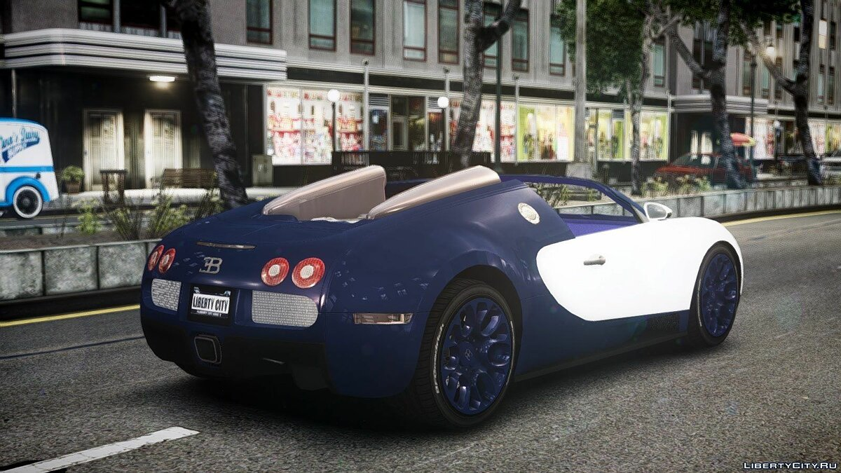 Bugatti car 2011 Bugatti Veyron Gran Sport Shanghai Edition for GTA 4