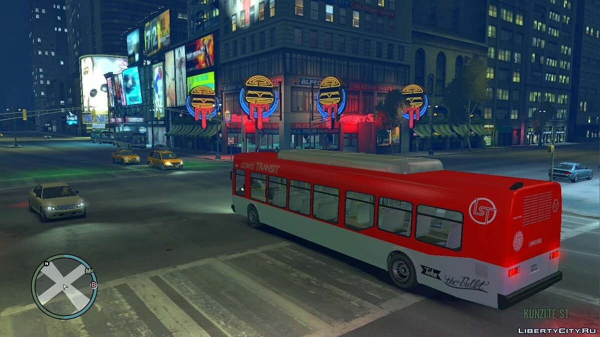 Bus GTA V Bus v2 for GTA 4