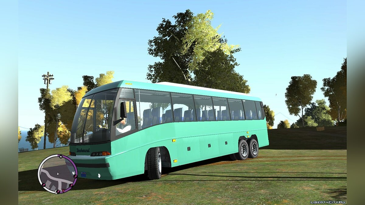 Bus GTA V Coach for GTA 4