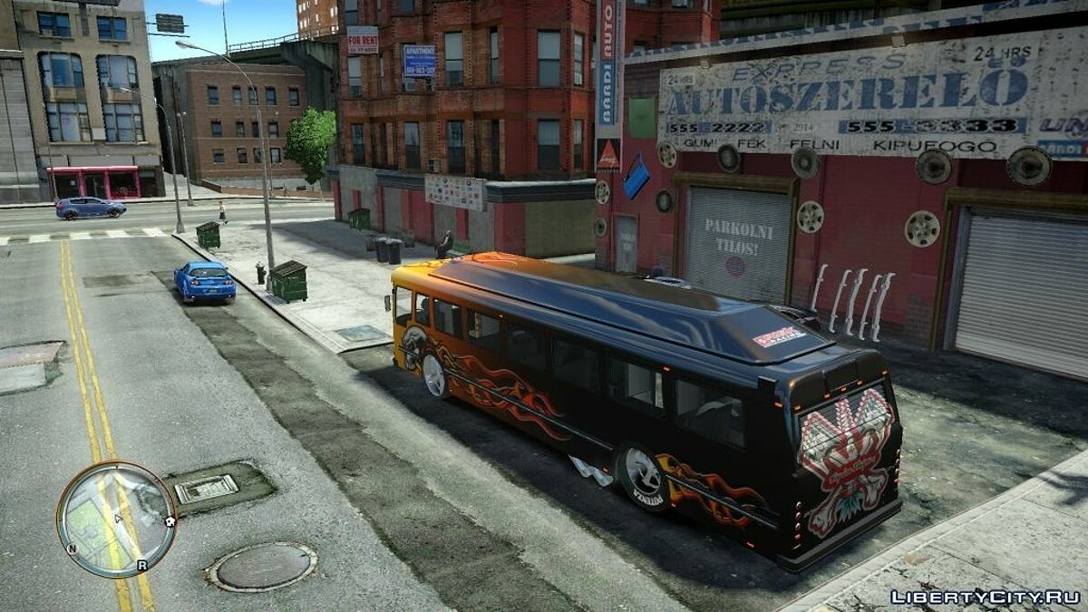 Bus Racing Bus [Beta] for GTA 4