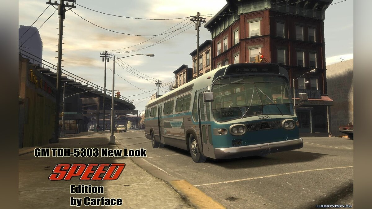 Bus GM TDH-5303 SPEED Edition for GTA 4