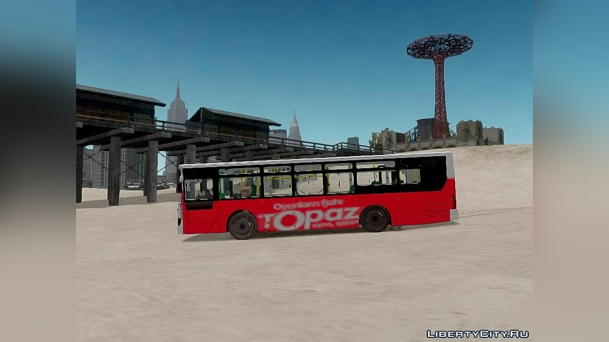 Bus Daewoo Bus BC211MA Baku for GTA 4