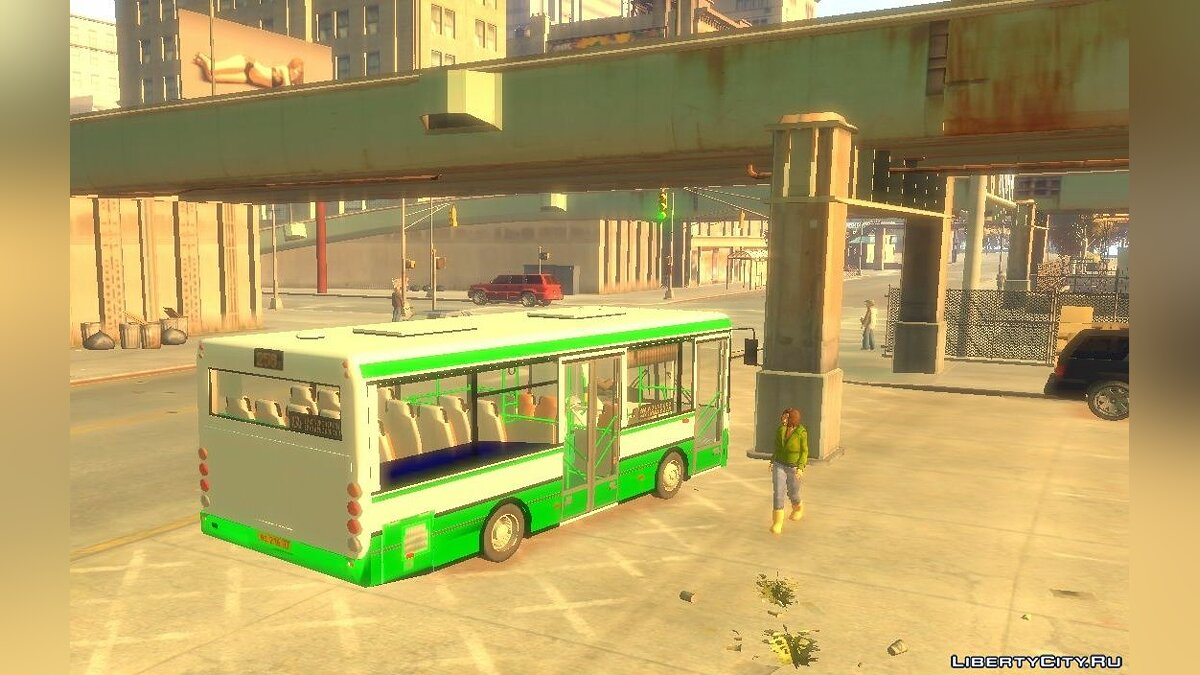 Bus PAZ 3237a for GTA 4
