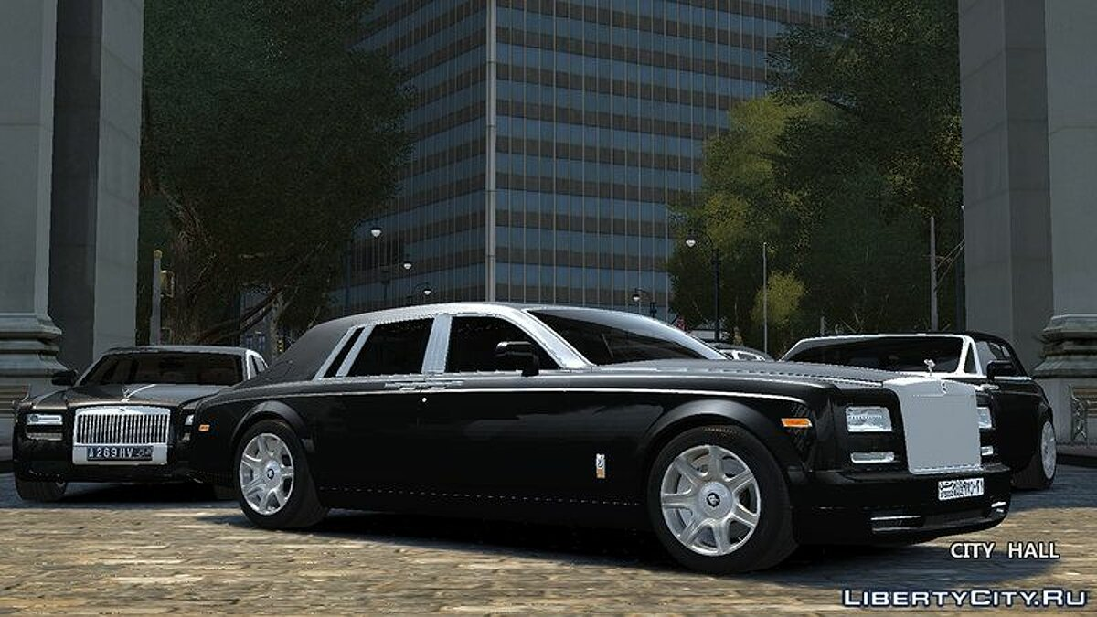 Car pack Rolls-Royce Motor Cars Pack v1.0 for GTA 4