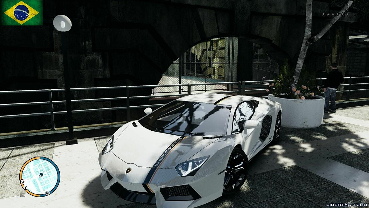 Car textures Three Gumball 3000 Paintjobs (Lamborghini + Ferrari) for GTA 4