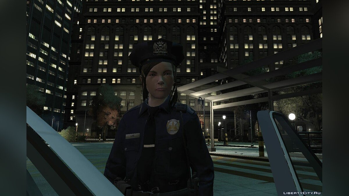 Character changing mod Police woman for GTA 4