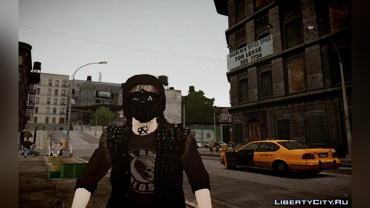 Character changing mod Wrench (Watch Dogs 2) BETA for GTA 4