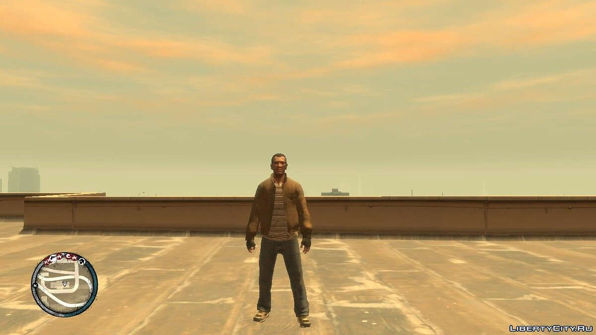 Character changing mod Niko with All Clothes and Accessories (EFLC) for GTA 4