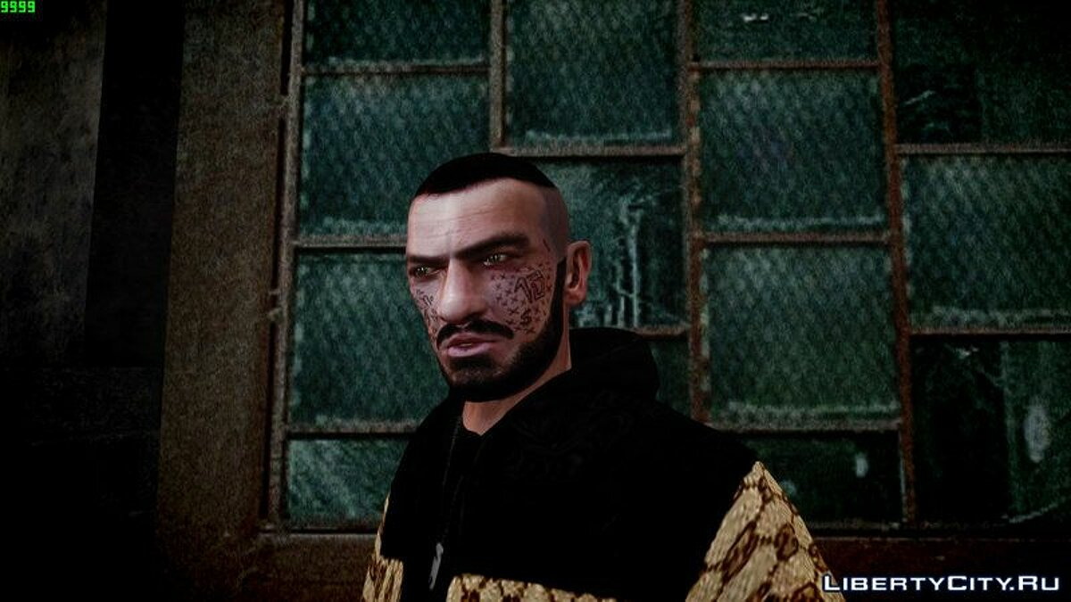 Character changing mod Change the appearance of Niko for GTA 4