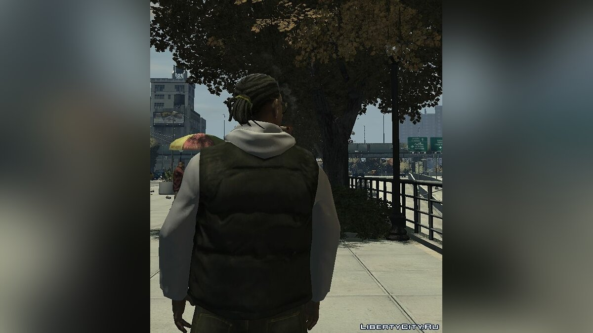 Character changing mod LJ white for GTA 4