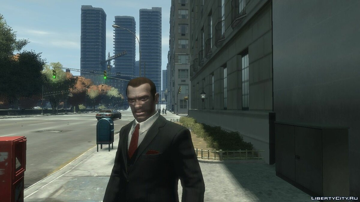 Character changing mod Improved Niko by FoxySkill for GTA 4