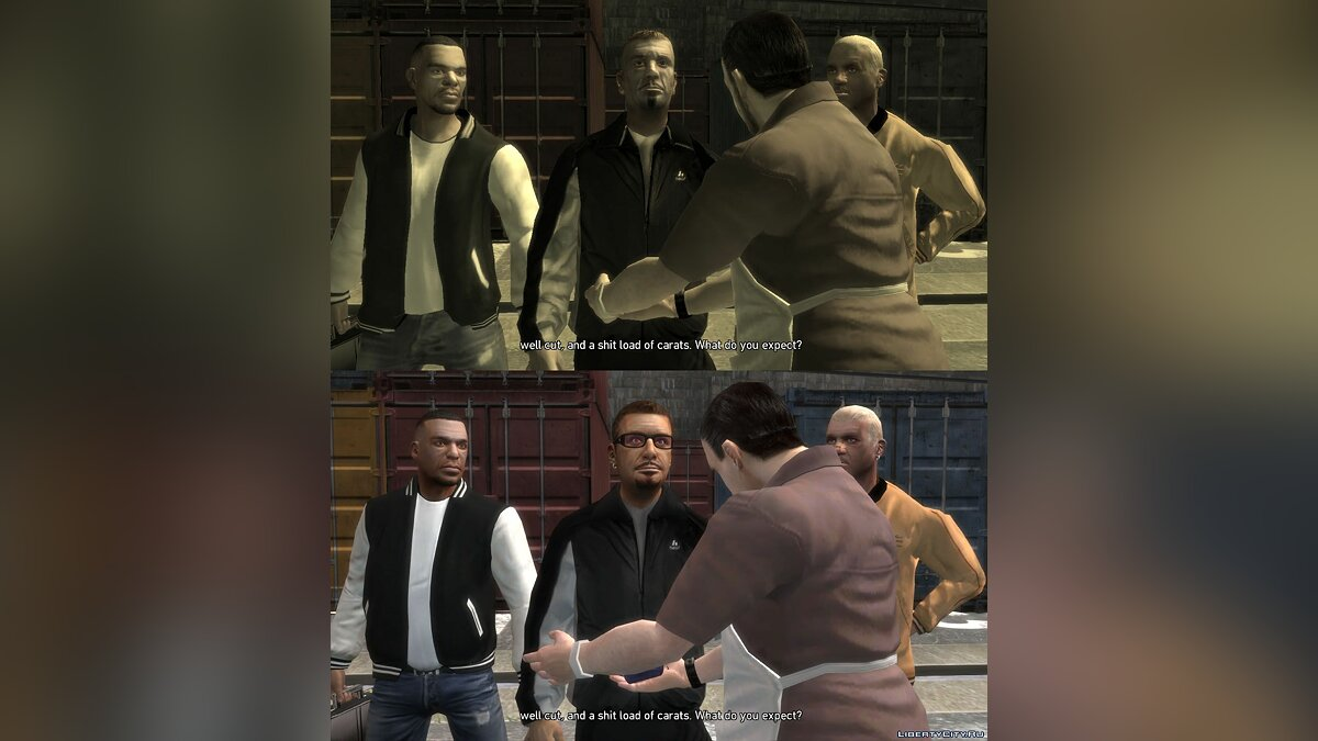 Grand Theft Auto IV Trilogy Characters Fixes v5.5 for GTA 4 - Картинка #16