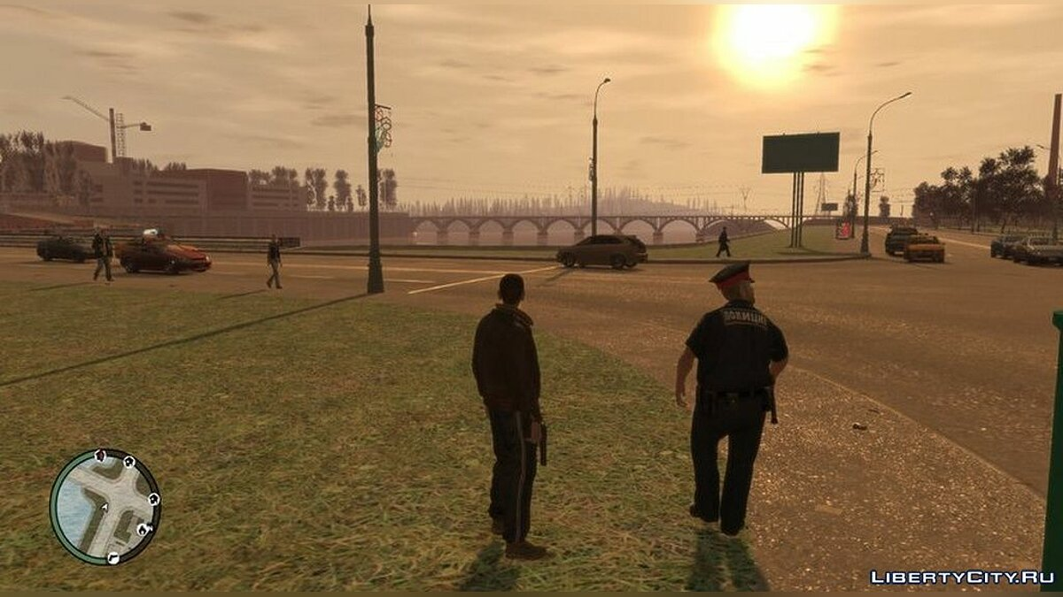 Character changing mod Russian uniform for police and special forces for GTA 4