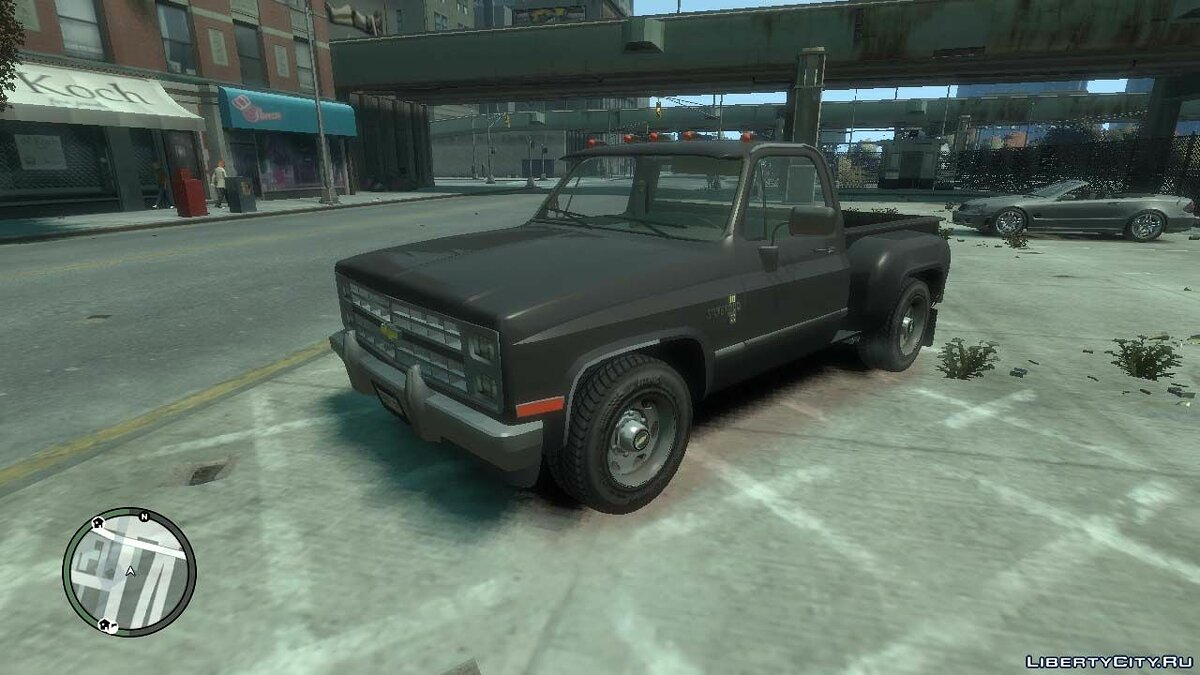 Chevrolet car 1985 Chevrolet C / K for GTA 4