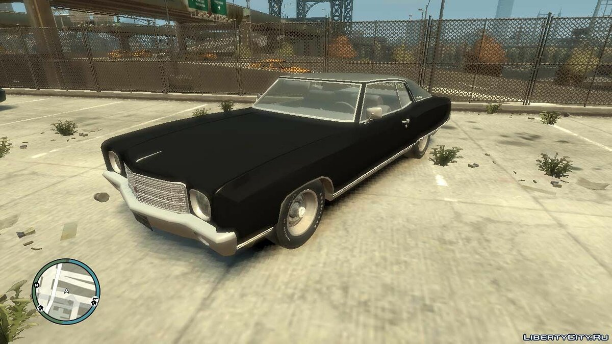 Chevrolet car 1970 Chevrolet Monte Carlo for GTA 4