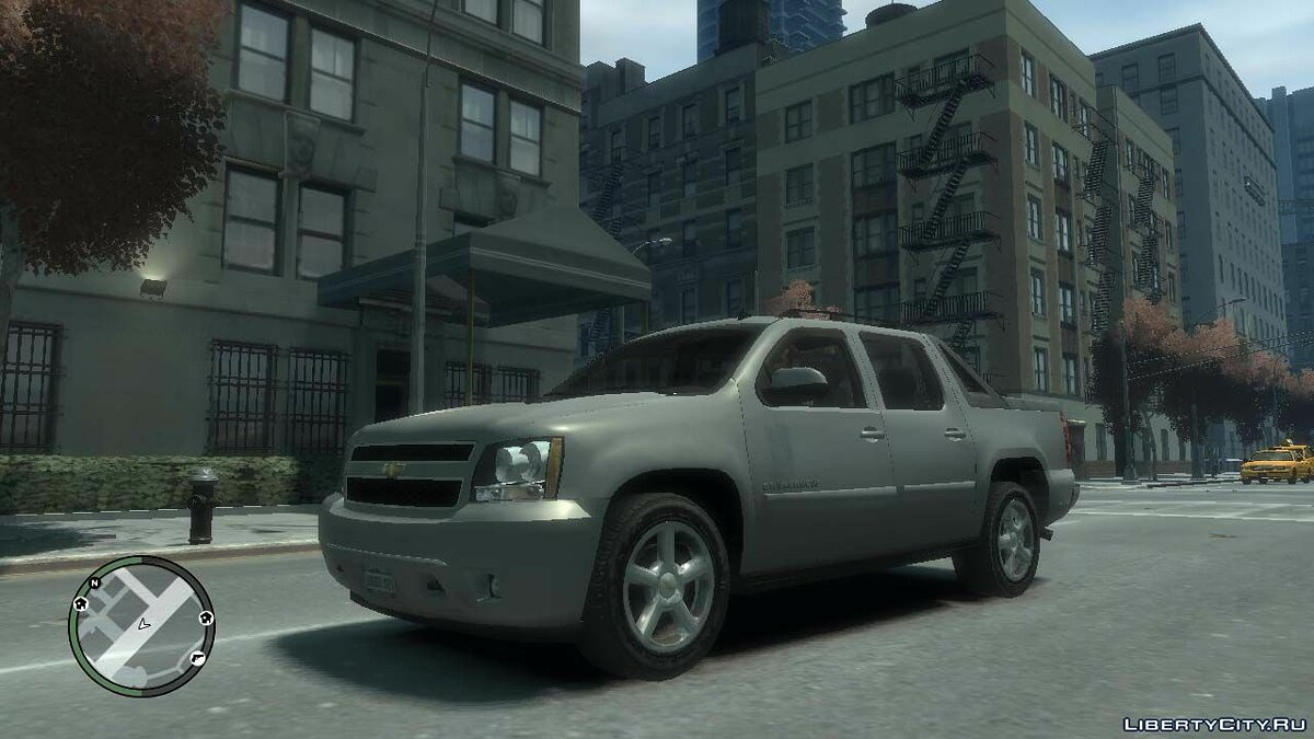 Chevrolet car 2007 Chevrolet Avalanche for GTA 4