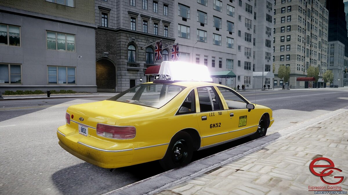Chevrolet car Chevrolet Caprice 1993 Taxi for GTA 4